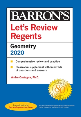 Let's Review Regents: Geometry 2020 (Barron's Regents NY) Cover Image