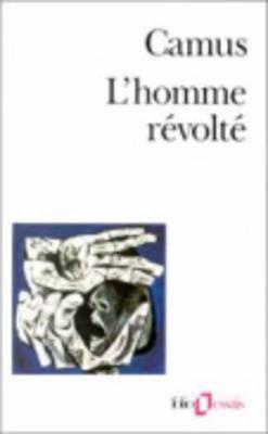 Homme Revolte (Folio Essais) Cover Image