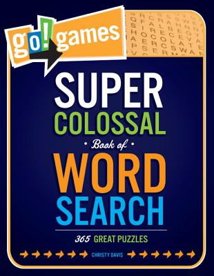 Go!games Super Colossal Book of Word Search Cover