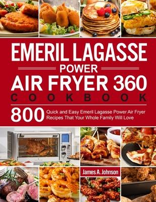Emeril Lagasse Power Air Fryer 360 Cookbook Cover Image