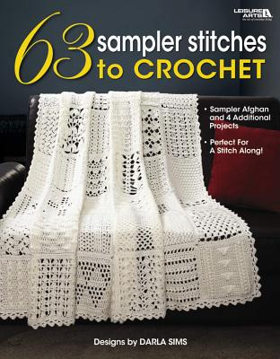63 Sampler Stitches to Crochet Cover