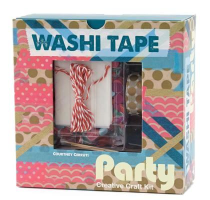 Washi Tape Party: Creative Craft Kit Cover Image