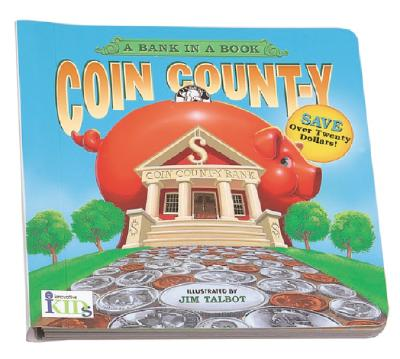 Coin Count-Y: A Bank in a Book Cover Image