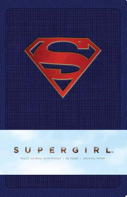 Supergirl Hardcover Ruled Journal (Comics) Cover Image