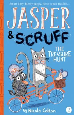 The Treasure Hunt (Jasper and Scruff #2) Cover Image