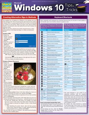 Microsoft Windows 10 Tips & Tricks Cover Image