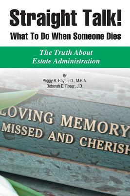 Straight Talk! What to Do When Someone Dies Cover Image