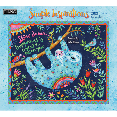 Simple Inspirations(tm) 2021 Wall Calendar Cover Image