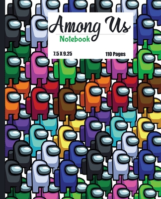 Among Us: Lined Notebook / Journal / Diary Gift, 110 Quality Pages, 7.5x9.25 inches, Matte Finish Cover, Great Gift For All Gami Cover Image