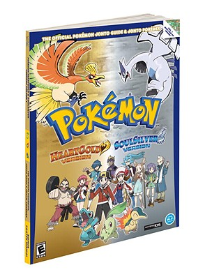Pokemon Heartgold & Soulsilver: The Official Pokemon Johto Guide & Pokedex [With Poster] Cover Image