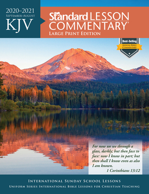 KJV Standard Lesson Commentary® Large Print Edition 2020-2021 Cover Image