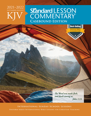 KJV Standard Lesson Commentary® Casebound Edition 2021-2022 Cover Image