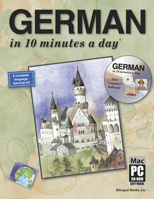 German in 10 Minutes a Day with CD-ROM [With CDROM] Cover