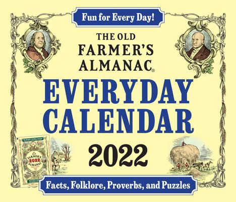 Cover for The 2022 Old Farmer's Almanac Everyday Calendar