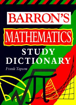 Barron's Math Study Dictionary Cover Image