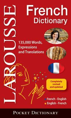 Larousse Pocket French-English/English-French Dictionary Cover Image