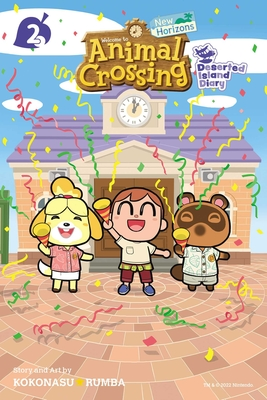 Animal Crossing: New Horizons, Vol. 2: Deserted Island Diary Cover Image