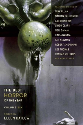 The Best Horror of the Year, Volume Six Cover Image