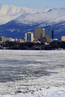 Anchorage Alaska Notebook Cover Image