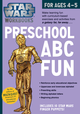 Star Wars Workbook: Preschool ABC Fun (Star Wars Workbooks) Cover Image