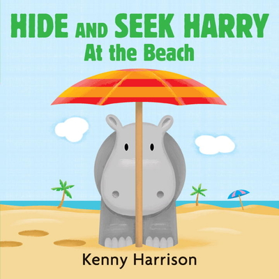Hide and Seek Harry at the Beach Cover Image