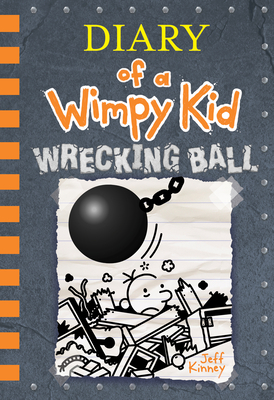 Wrecking Ball Diary of a Wimpy Kids #14 cover image