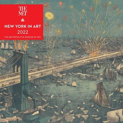 New York in Art 2022 Mini Wall Calendar Cover Image