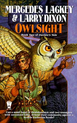 Cover for Owlsight (The Owl Mage Trilogy #2)