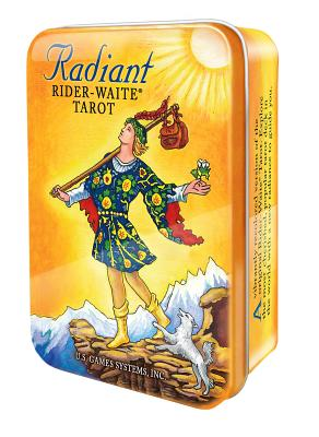 Radiant Rider-Waite Tarot Deck in a Tin [With Book and Keepsake Tin] Cover Image