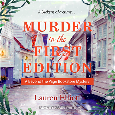 Murder in the First Edition Cover Image