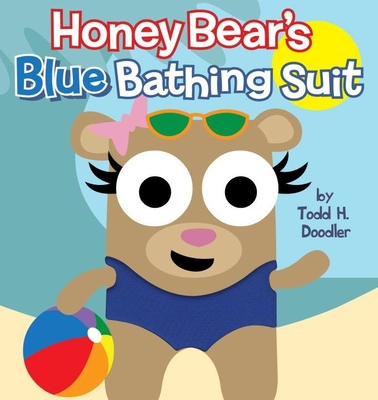 Honey Bear's Blue Bathing Suit Cover
