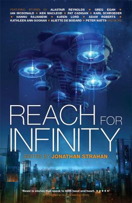 Cover for Reach For Infinity (The Infinity Project #3)