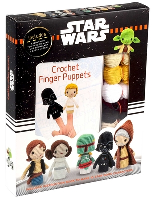 Star Wars Crochet Finger Puppets (Crochet Kits) Cover Image