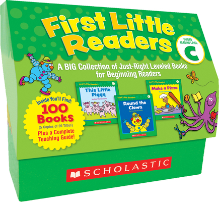 First Little Readers: Guided Reading Level C (Classroom Set): A BIG Collection of Just-Right Leveled Books for Beginning Readers Cover Image