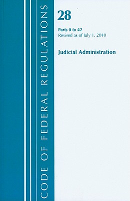 Judicial Administration, Parts 0 to 42 Cover Image