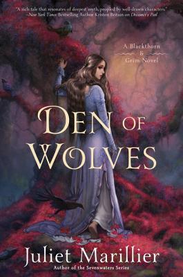 Cover for Den of Wolves (Blackthorn & Grim #3)