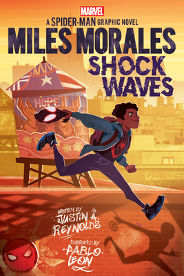 Miles Morales: Shock Waves (Original Spider-Man Graphic Novel) Cover Image