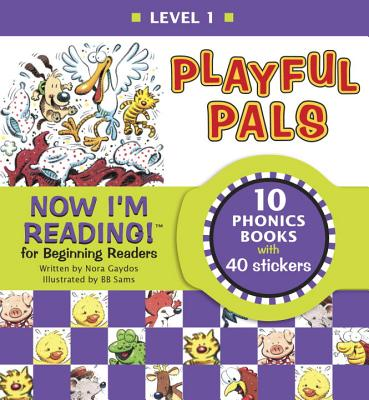 Now I'm Reading! Level 1: Playful Pals (NIR! Leveled Readers) Cover Image