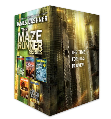 The Maze Runner Series Complete Collection Boxed Set (5-Book) Cover Image