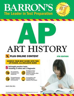 AP Art History with Online Tests Cover Image
