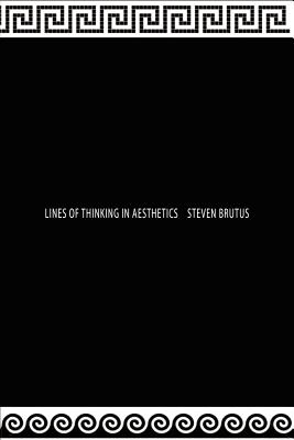 Lines of Thinking in Aesthetics Cover