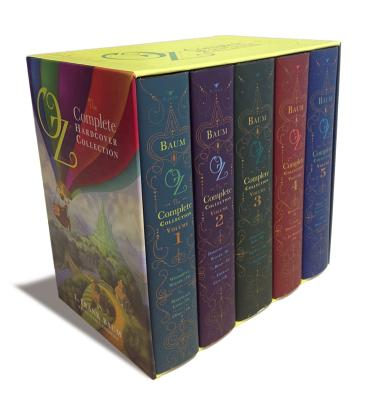 Oz: The Complete Hardcover Collection 5 Volume Set Cover Image
