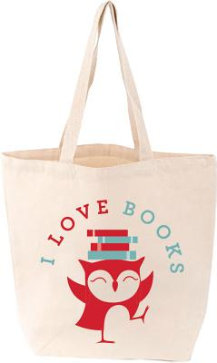 I Love Books Tote Cover Image