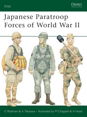 Japanese Paratroop Forces of World War II (Elite) Cover Image