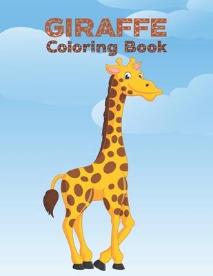 Giraffe Coloring Book: Cute Giraffes Coloring Book (Volume 3). Adorable Giraffes Coloring Cover Image
