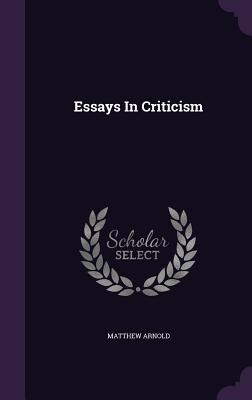Cover for Essays in Criticism