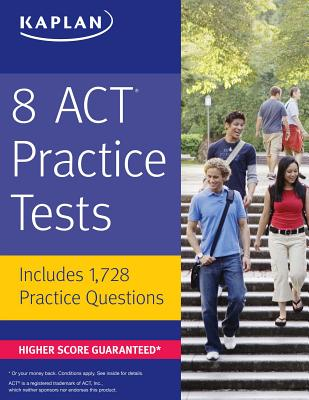 8 ACT Practice Tests: Includes 1,728 Practice Questions Cover Image