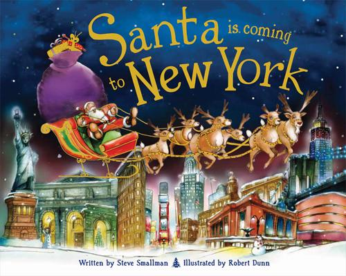Santa Is Coming to New York Cover