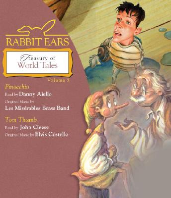 Rabbit Ears Treasury of World Tales Cover