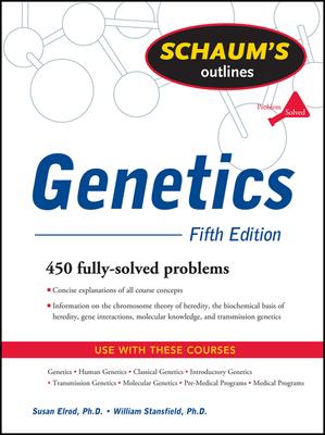Schaum's Outline of Genetics, Fifth Edition (Schaum's Outlines) Cover Image